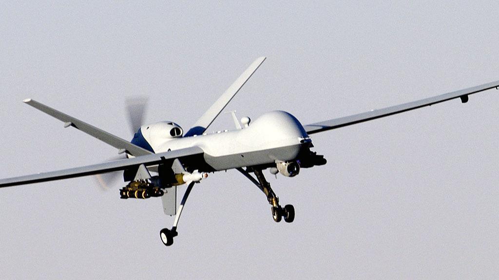 Dette er et godt tidspunkt å stoppe å utvikle selvstyrte våpen, mener Hawking. Verdens militære ledere er neppe enige. Foto: U.S. Air Force