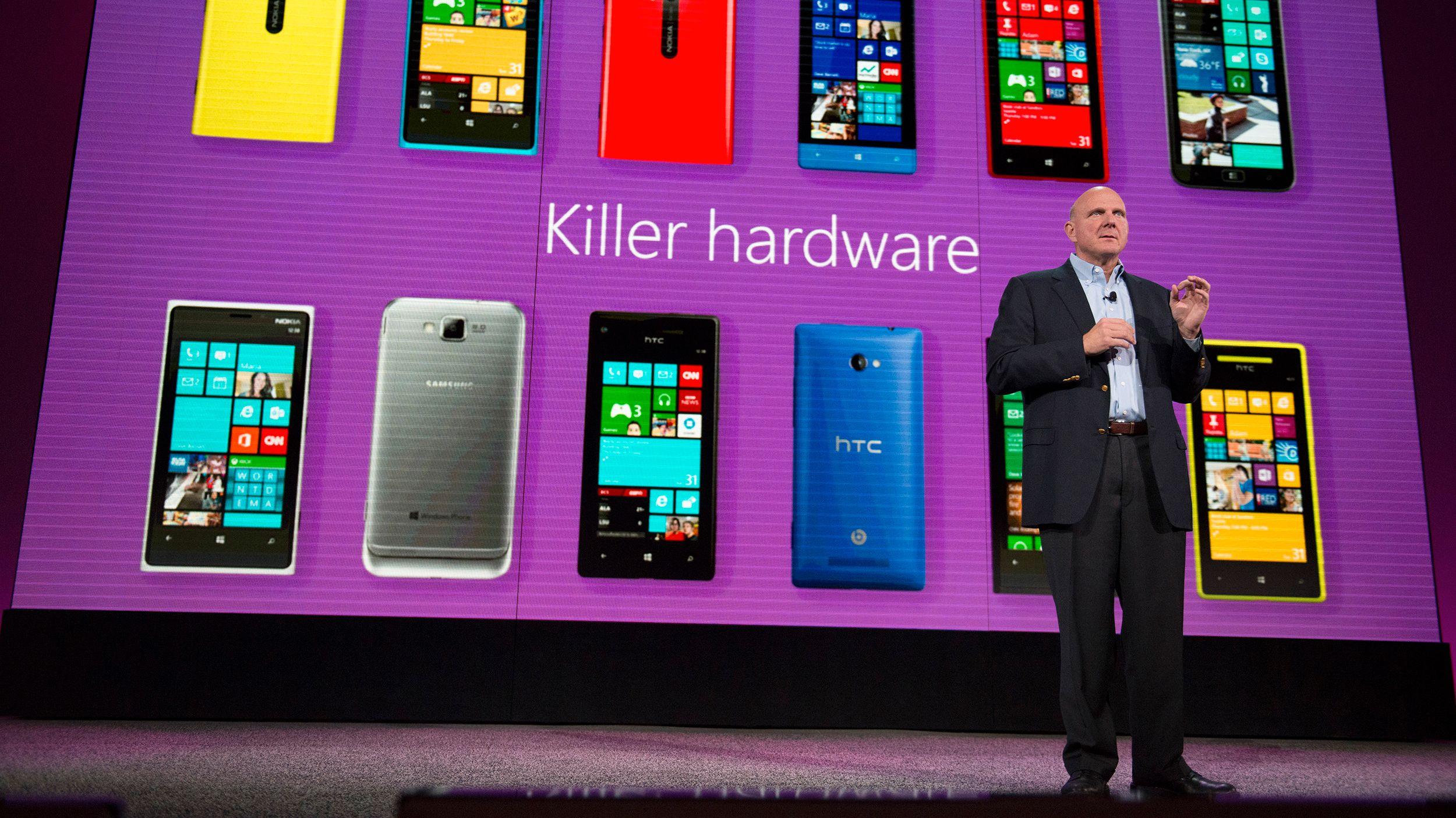 Windows Phone større enn Apple iOS i 14 markeder