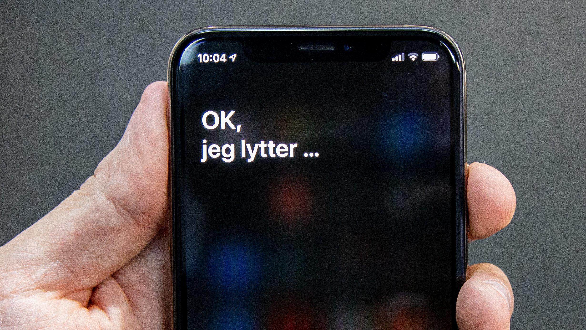 Slik vil Apple lytte på deg fremover