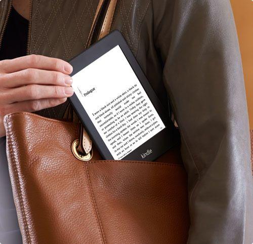 Kindle Paperwhite fra Amazon er basert på e-papir. Disse lesebrettene er markedsledende, men enn så lenge har ingen av Kindle-brettene den aller heftigste e-papirteknologien.Foto: Amazon