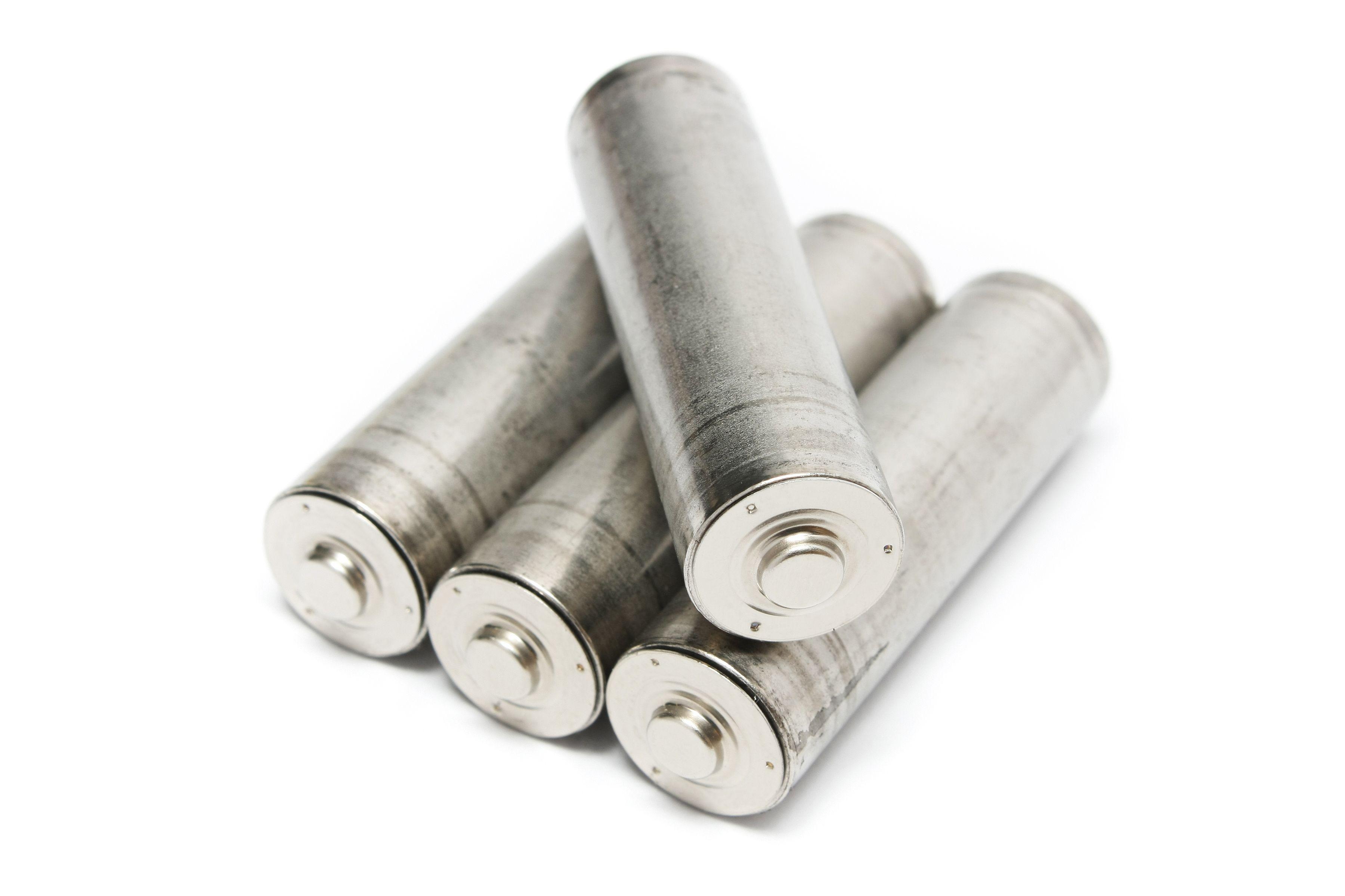 Tradisjonelle AA-batterier.Foto: Shutterstock