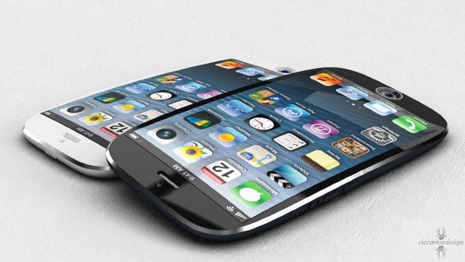 For fire år siden dukket dette bildet opp av hvordan en kurvet iPhone kunne se ut. Ikke fikk vi noen kurvet iPhone, og den så i hvert fall ikke slik ut. Mange designere bryner seg på ulanserte produkter, og får noen ganger mer oppmerksomhet enn de venter seg..
