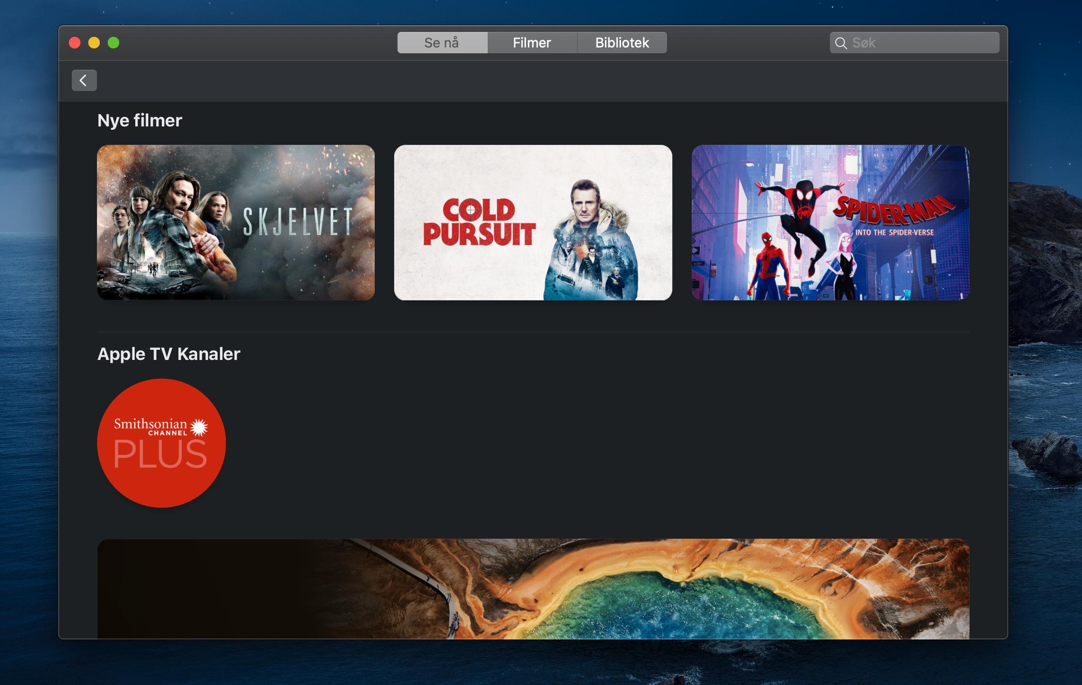 Apple TV-appen er delvis et tomt skall frem mot lansering av AppleTV+-tjenesten. Foreløpig er den for deg som kjøper film fremfor å strømme den.