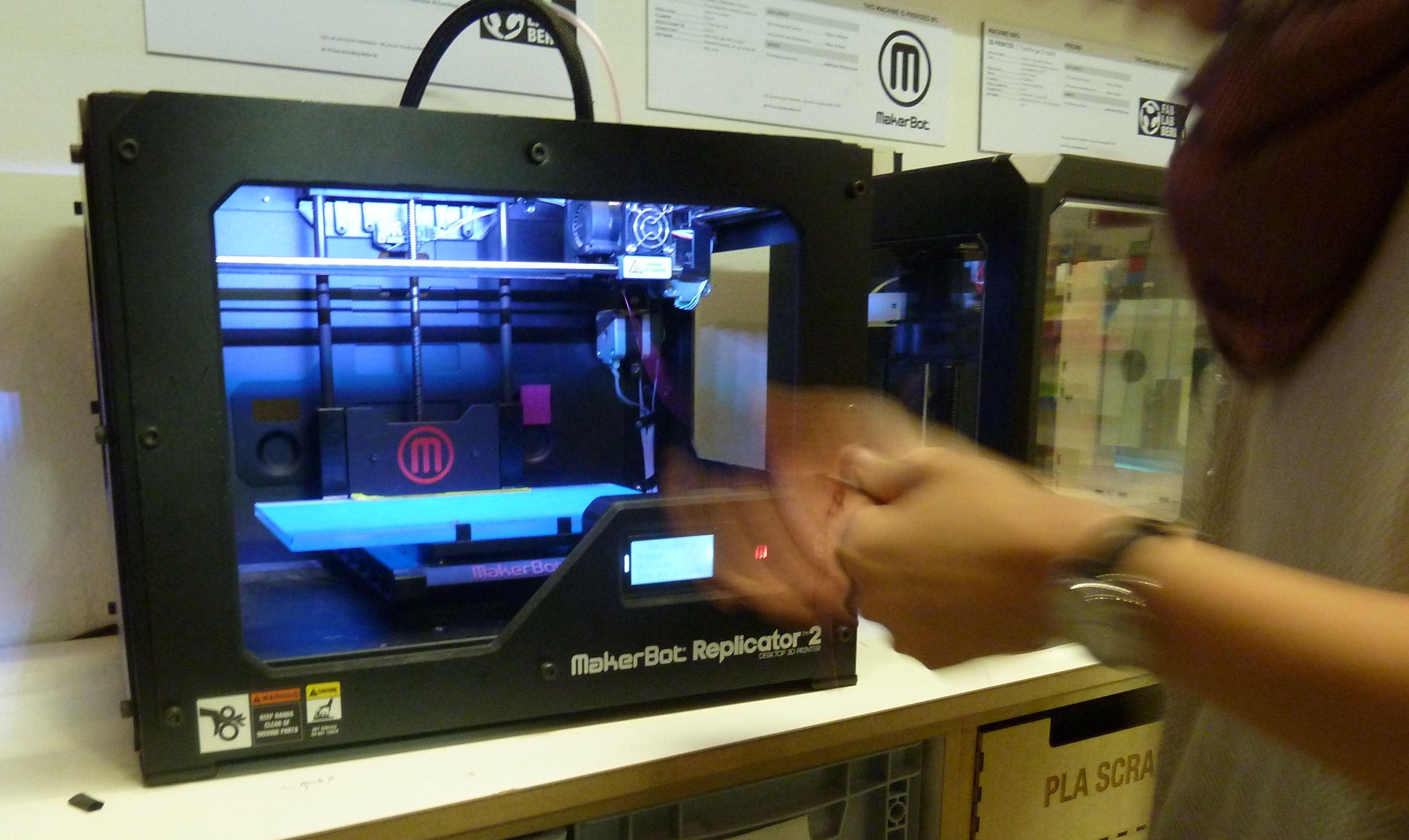 MakerBot Replicape 2.Foto: Øyvind N. Dahl