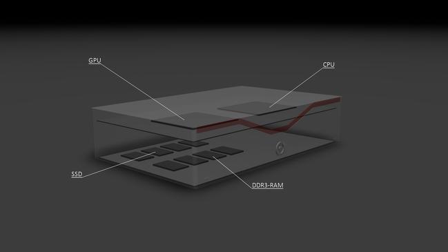 Her er en tegning som viser hvor de ulike komponentene er plassert. .Foto: Silent Power