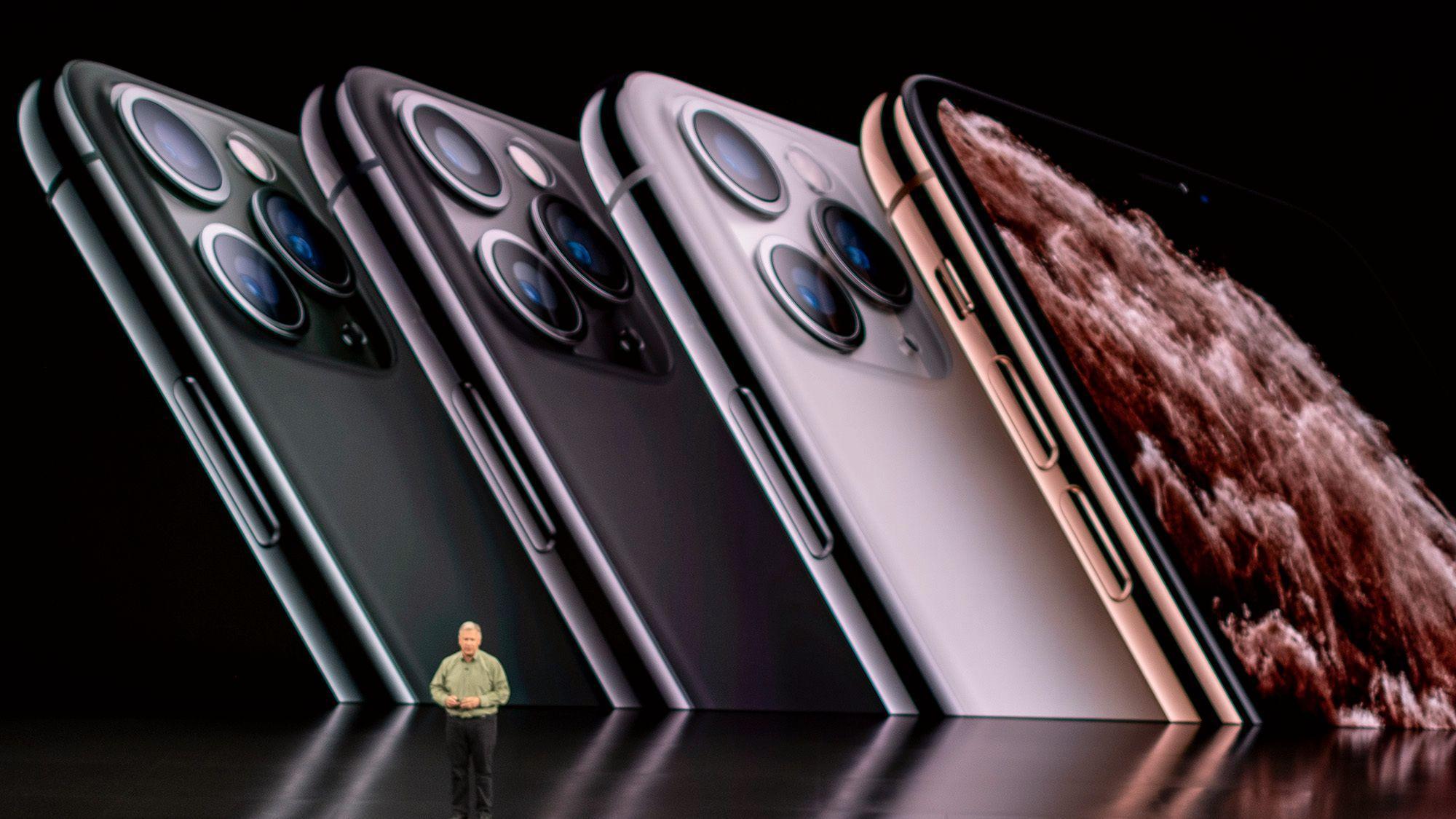 Årets iPhone-lansering ser ut til å bli utsatt. Her fra iPhone 11-lanseringen i 2019.