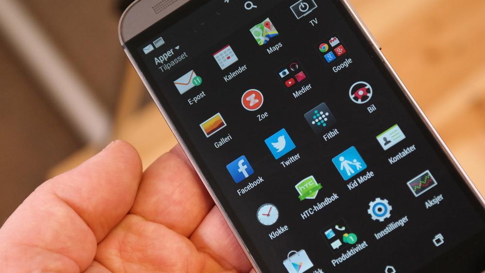 HTC One M8 får nye Android innen 90 dager.Foto: Espen Irwing Swang, Tek.no