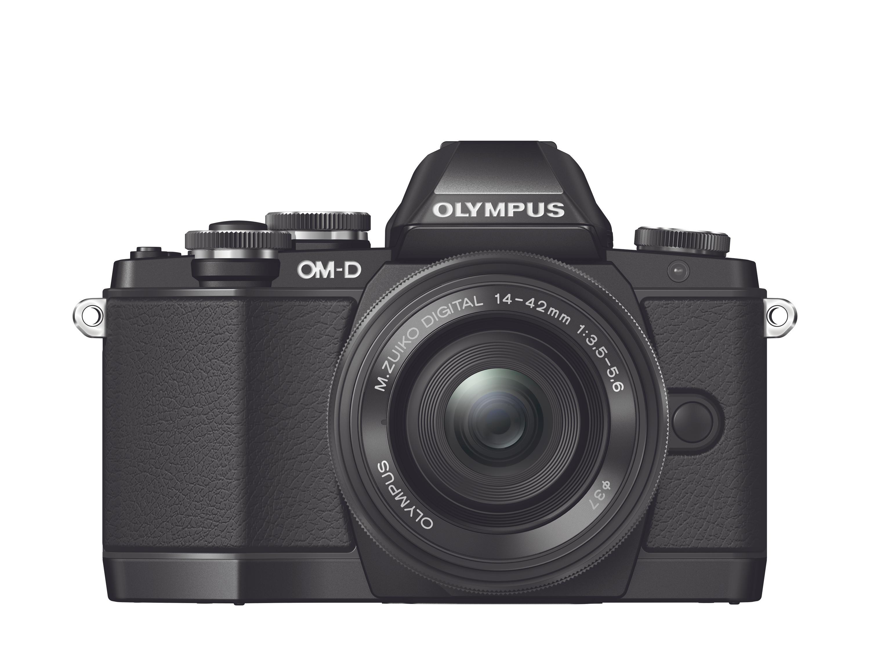 Olympus OM-D E-M10.