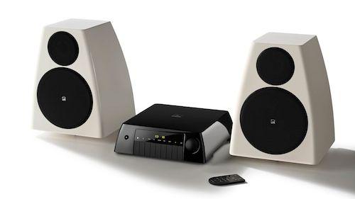 Elegant og kompakt hi-fi-anlegg
