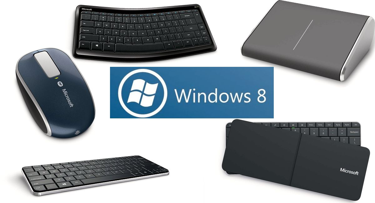 Microsoft lanserer tastatur og mus til Windows 8