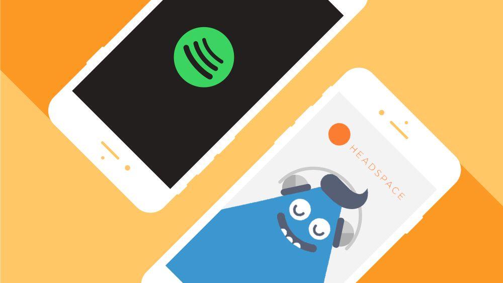 Spotify slår seg sammen med Headspace