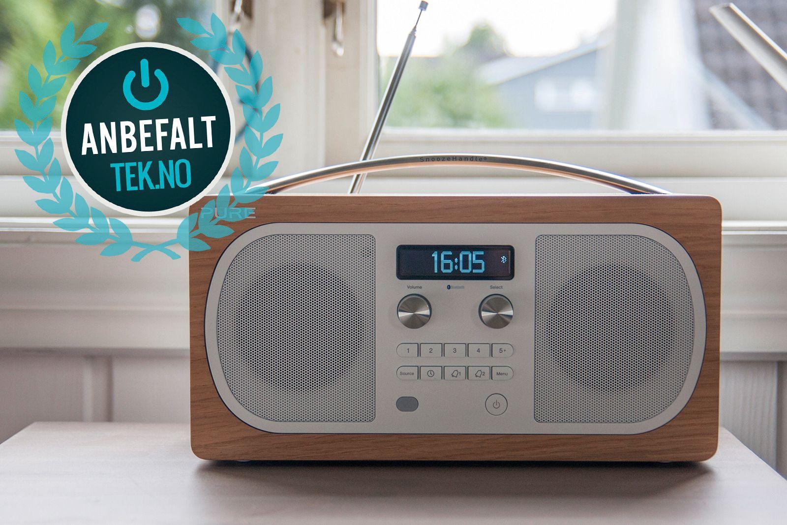 Hvis du ser etter en enkel, men pen radio, er Pure Evoke D6 et godt valg. Foto: Kristoffer Møllevik/Tek.no