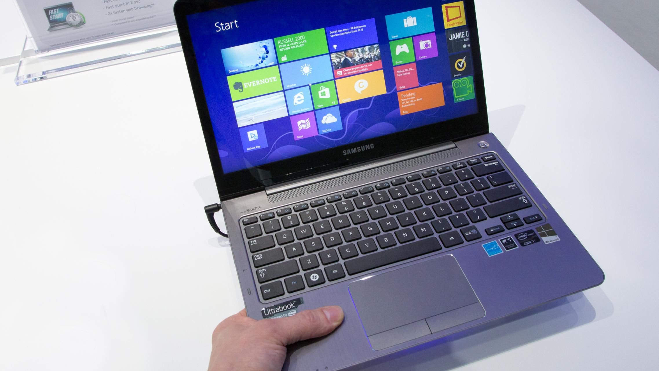 Samsungs 5 serie Ultrabook