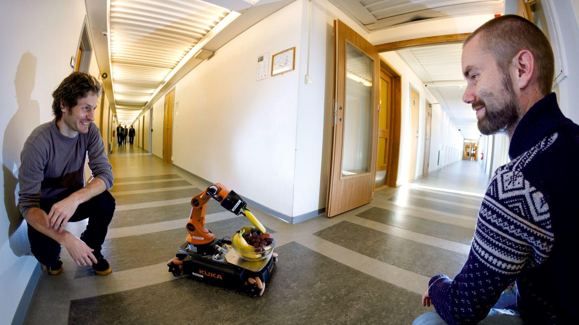 Norske forskere lager roboter med laser- og radiosyn