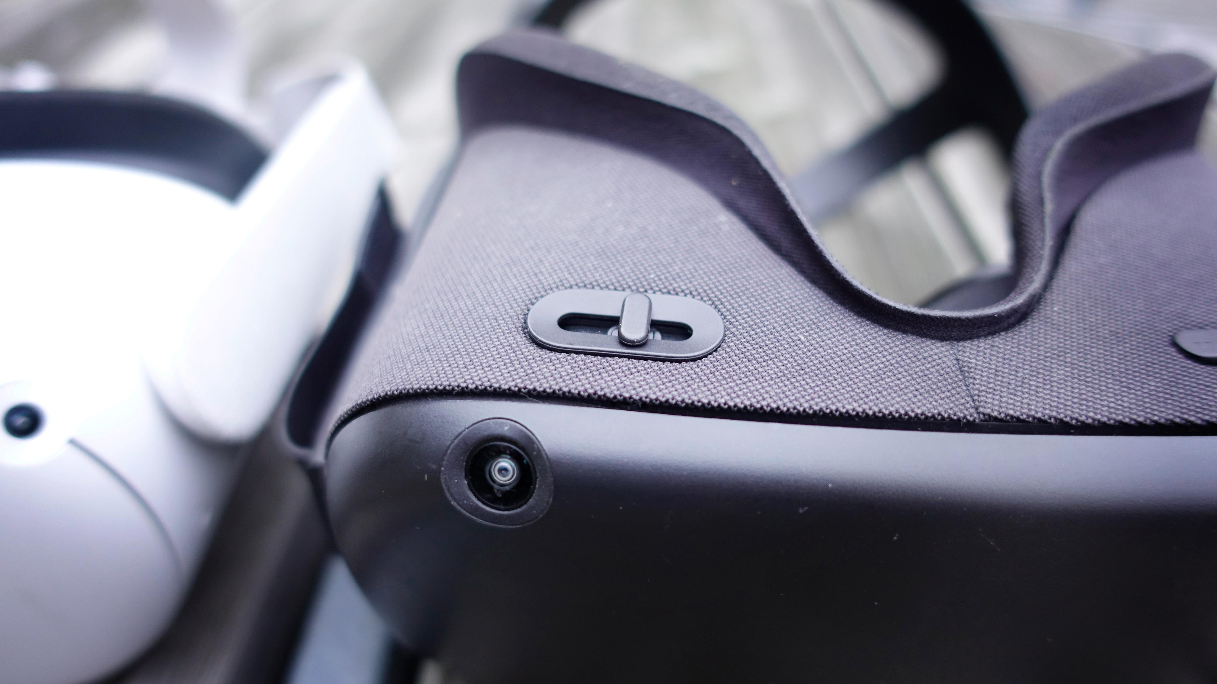 Et savn: Skyvebryteren som justerte linseavstanden på førstegenerasjons Oculus Quest.