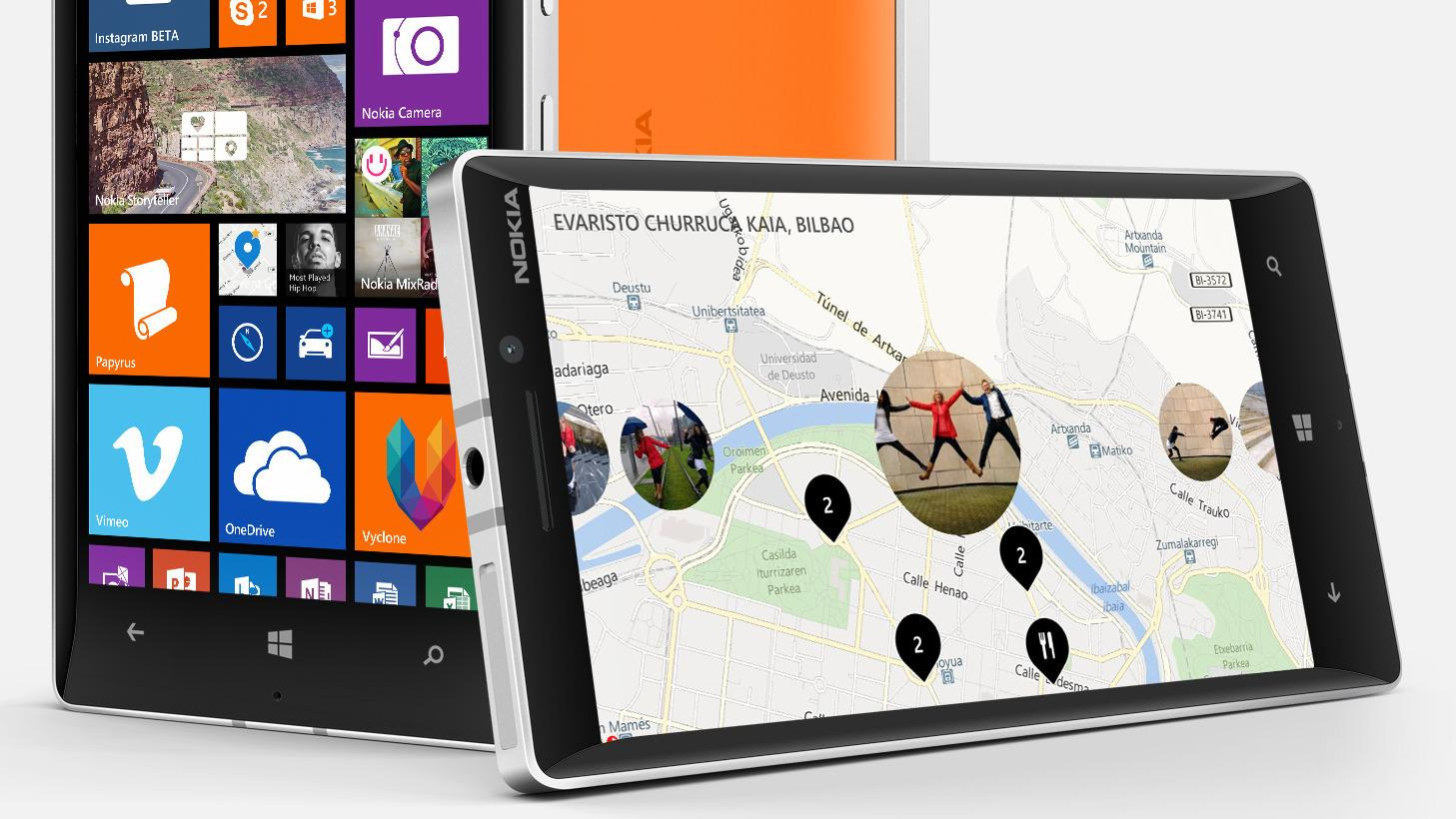 Microsoft Nokia Lumia 930 kjører Windows Phone 8.1.Foto: Nokia