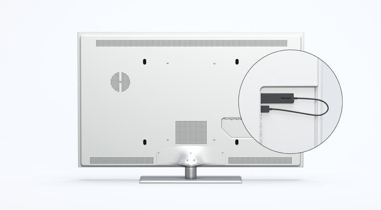 Microsofts Wireless Display Adapter støtter Miracast og klarer seg på støm fra USB.Foto: Microsoft