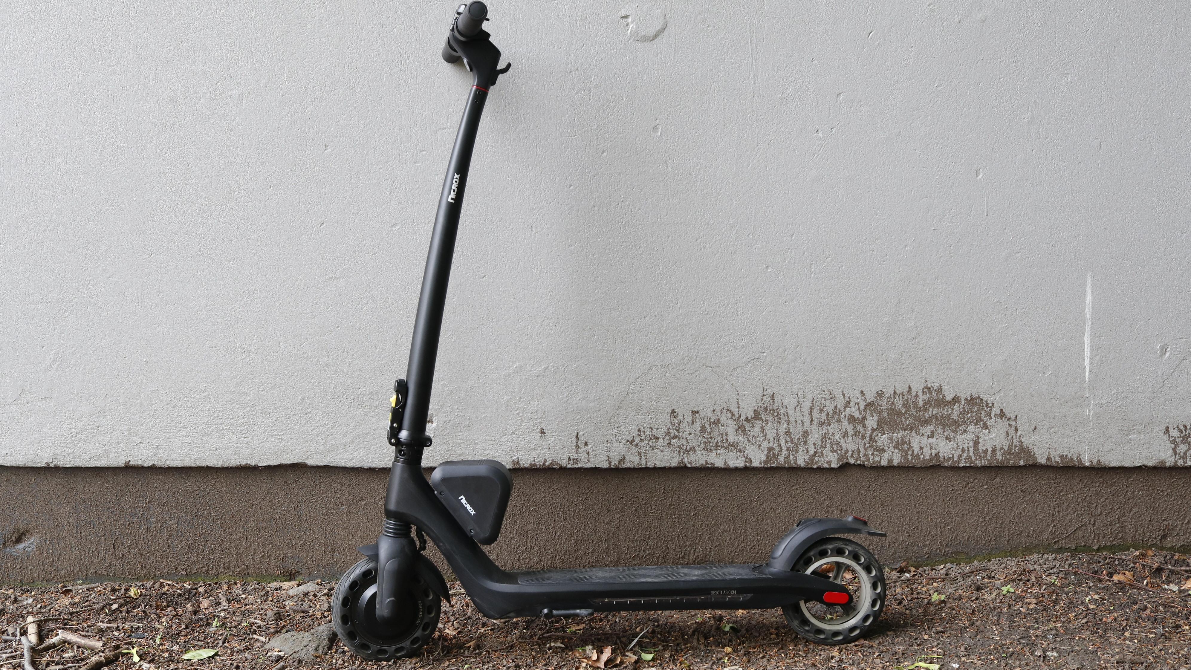 En elsparkesykkel som skiller seg ut