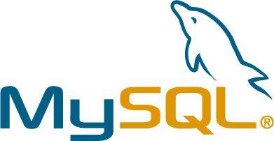 MySQL-logoen. Klikk på bildet for å komme til MySQL-hjemmesiden.