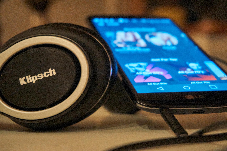 LG K10 egner seg godt til musikklytting. Bilde: Torstein Norum Bugge, Tek.no