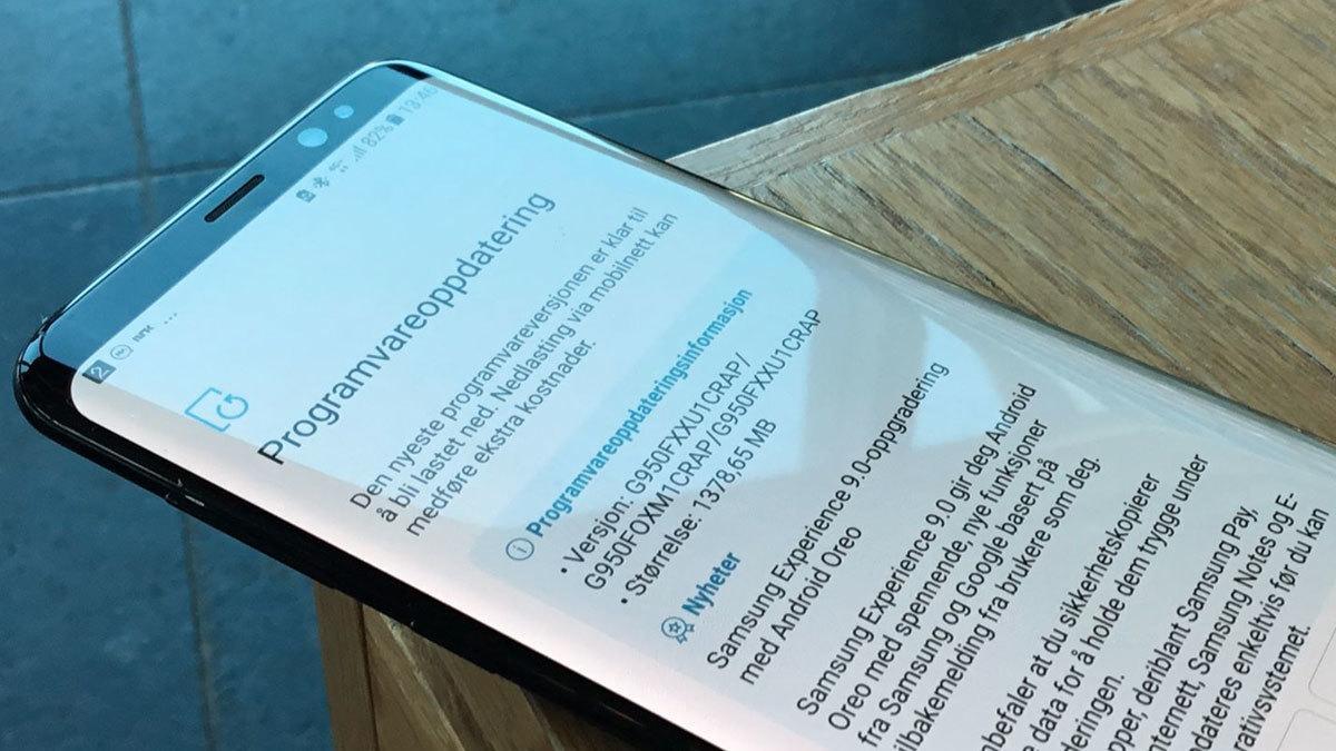 Android 8 ute til Samsung Galaxy S8 igjen