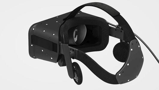 Den nye utgaven har fått LED-lamper på baksiden som mulligjør 360-graders posisjonssporing.Foto: Oculus VR