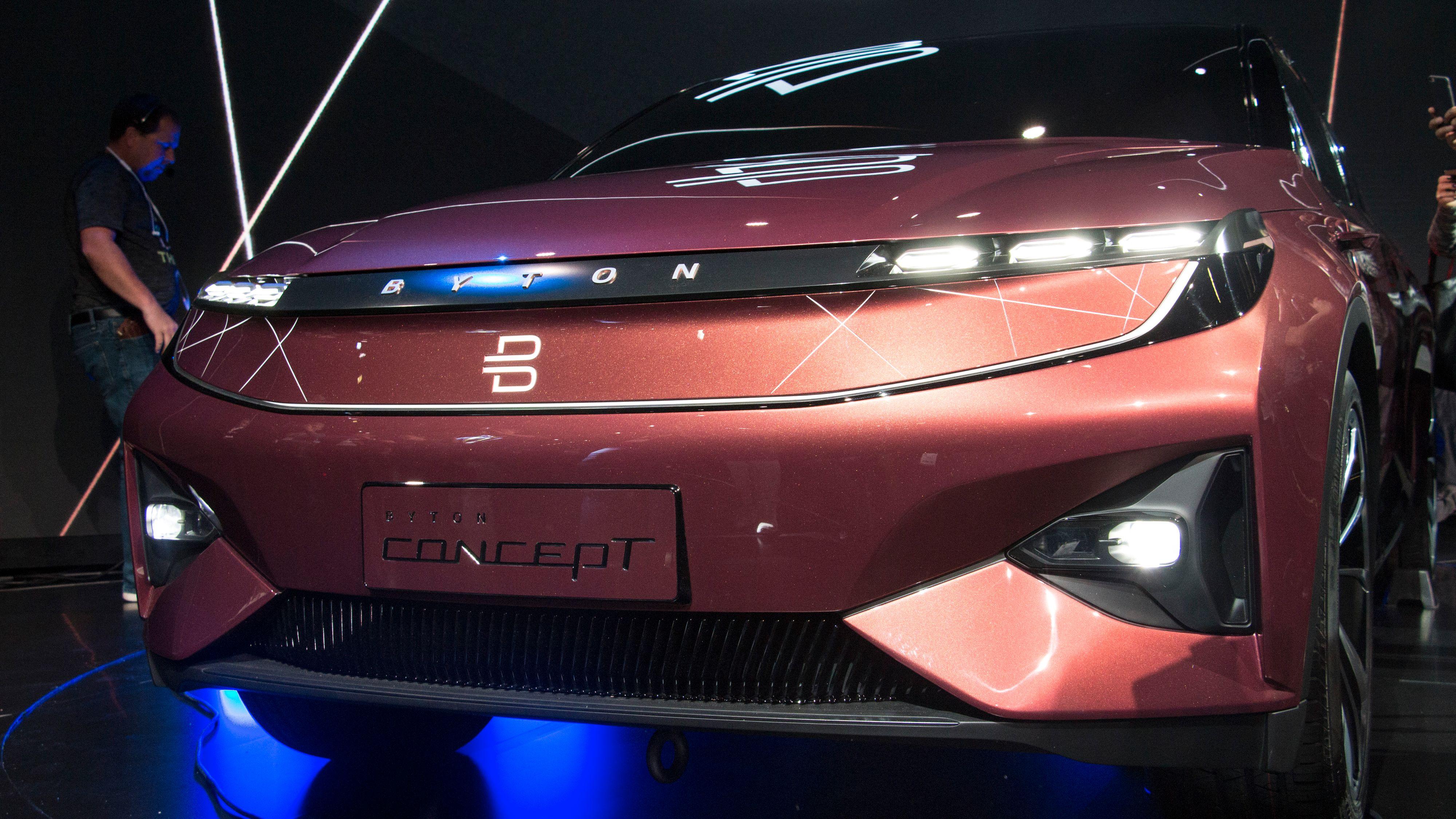 Bytons konseptbil var en av de mest omtalte under årets CES-messe. Den skal være på markedet mot slutten av 2019.