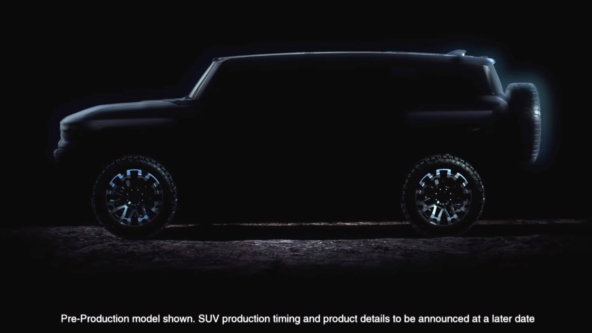 En SUV-variant vil også komme, men den er foreløpig ikke tidfestet.