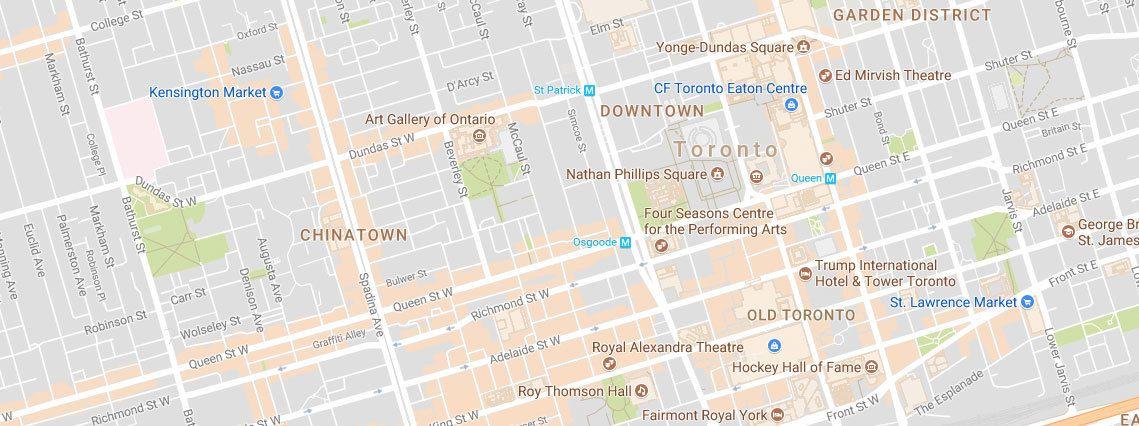 I den canadiske byen Toronto er det mange populære gater å vandre i.
