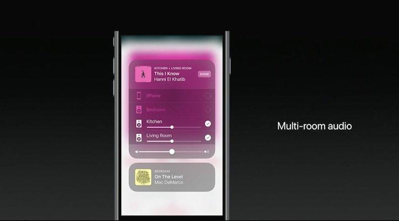 Du skal kunne styre alle Airplay-høyttalere via Homekit-appen i iOS 11.