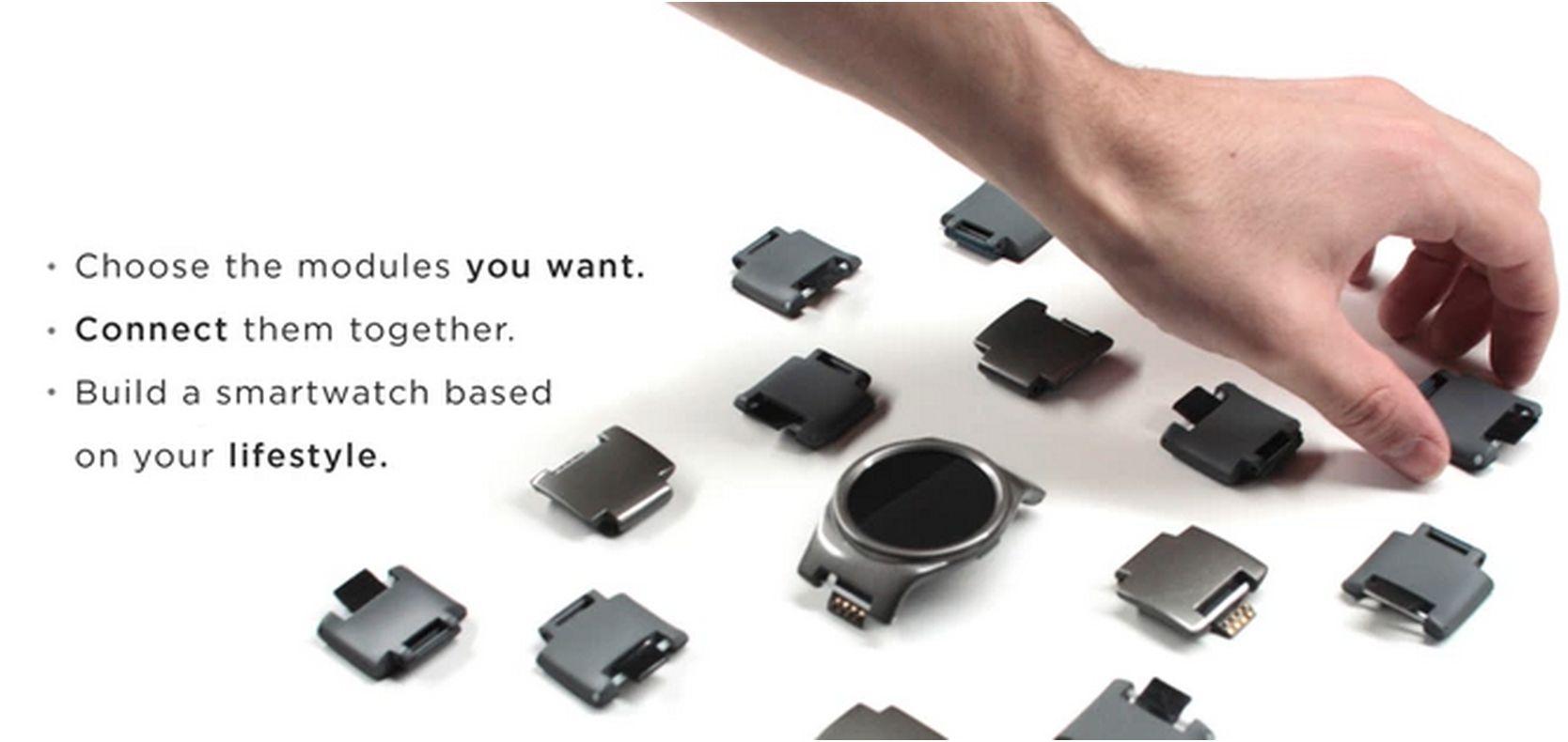 Slik ser modulene til Blocks ut. Er du en utvikler, kan du til og med designe dine egne! Foto: Blocks/Kickstarter