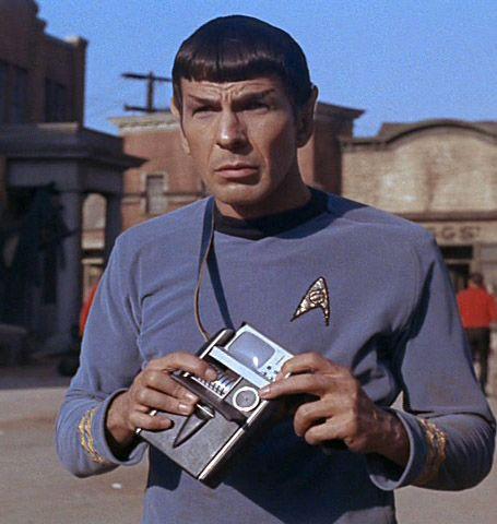 Den medisinske trikorderen i Star Trek kunne skanne levende vesener og diagnosere alt fra sykdommer til beinbrudd. Foto: CBS