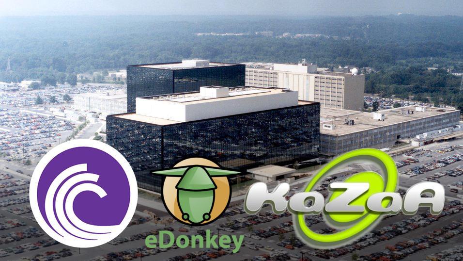 BitTorrent- og Kazaa-brukere var NSA-mål