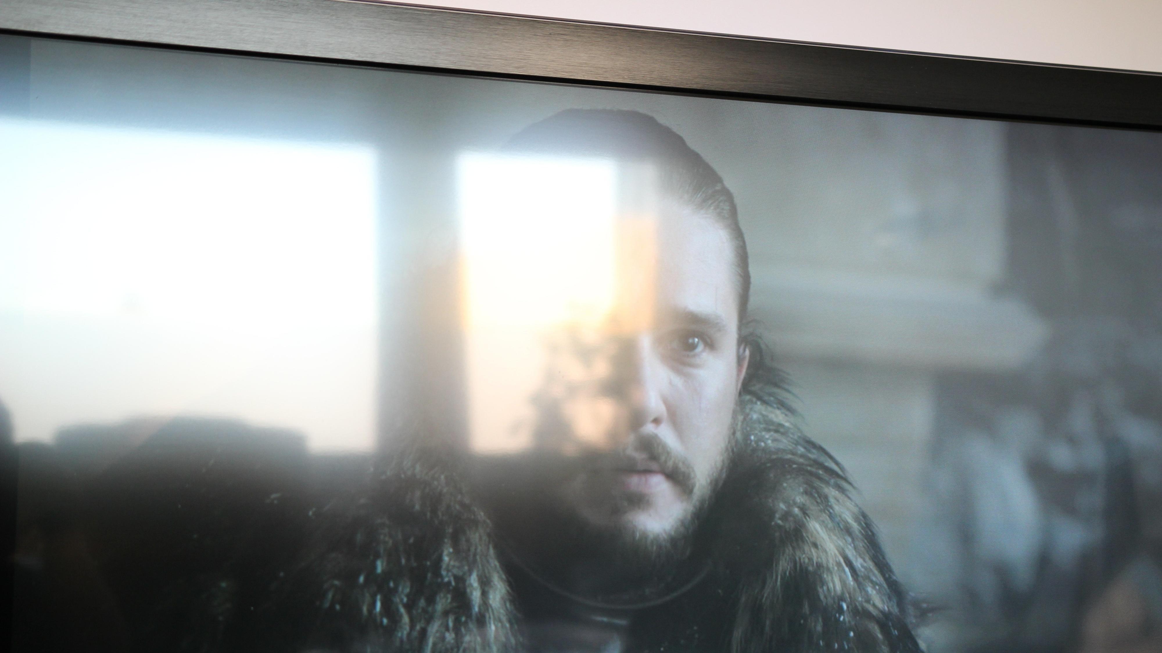 Denne scenen var visst viktig. Dessverre fikk Jon Snow og jeg for det meste se lyset som reflekteres i TV-en min.