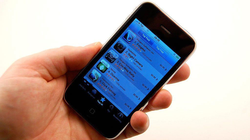 Årets mest populære Iphone-apps