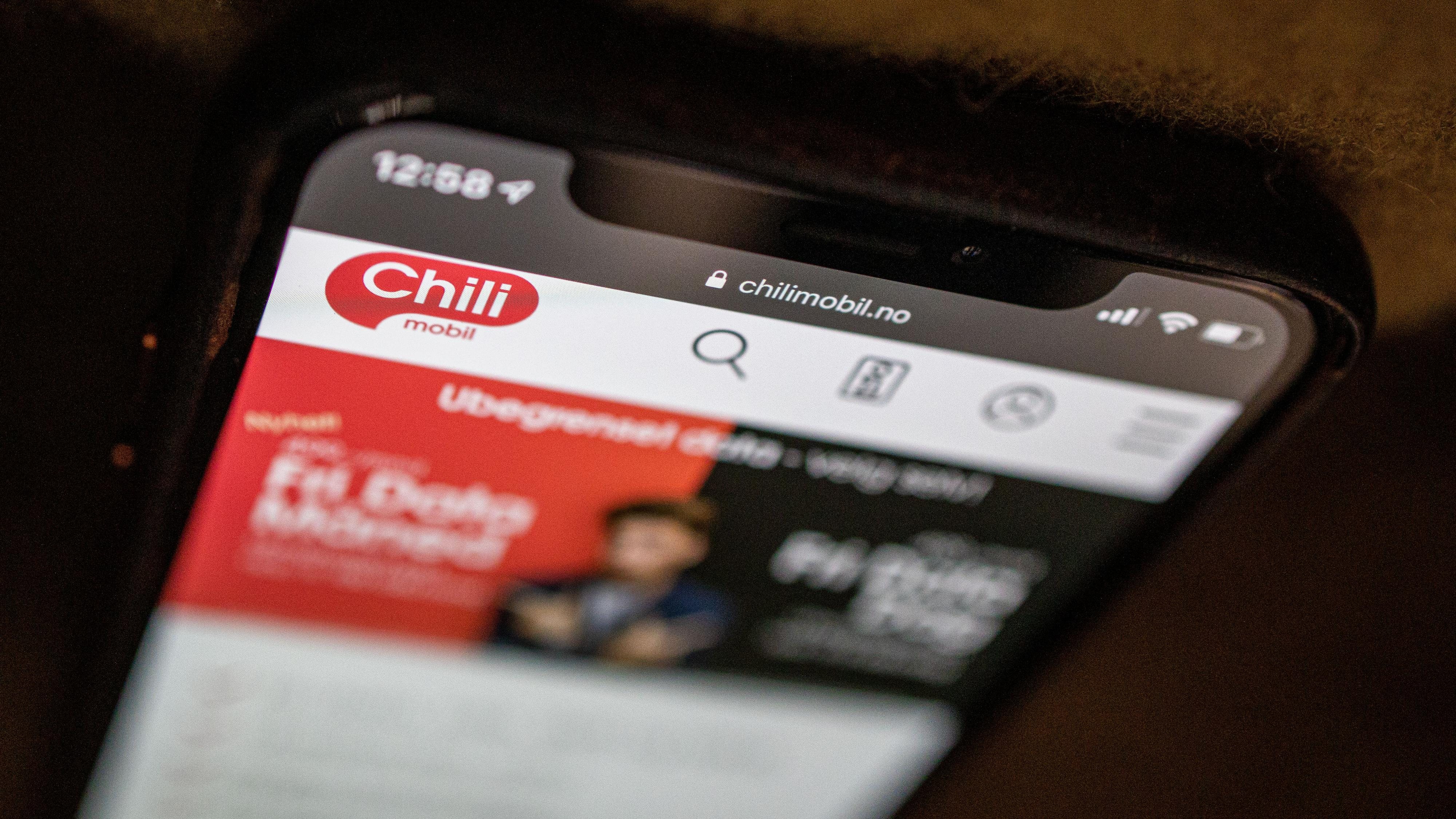 Chilimobil endrer «Fri data»-abonnement for å skille seg fra konkurrentene