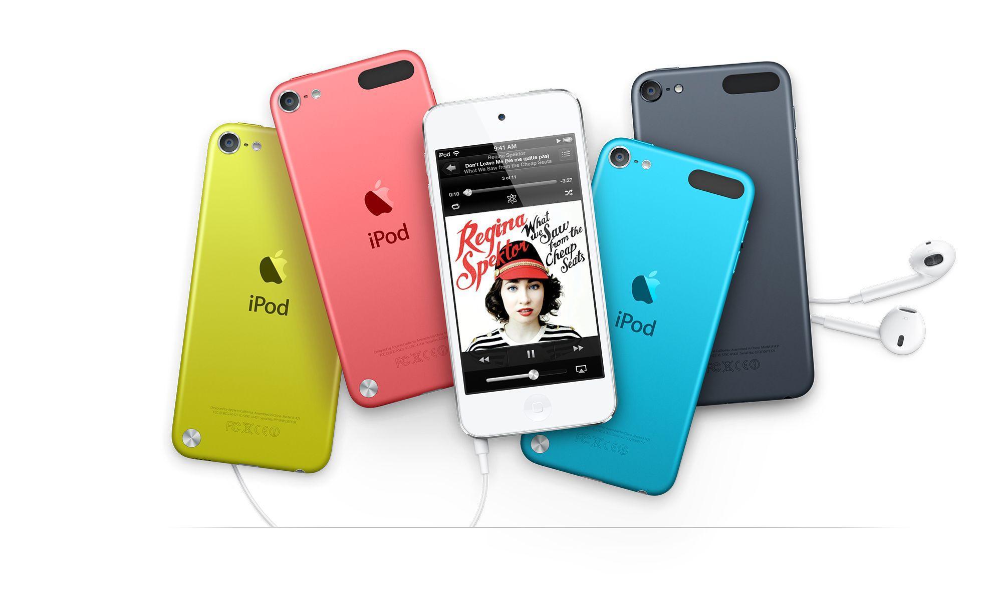 5. generasjon Apple iPod Touch. Foto: Apple