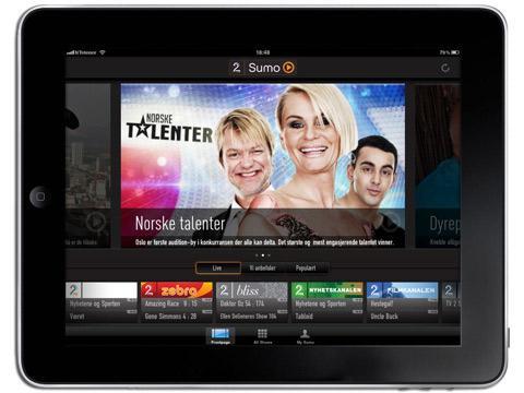 Apper som TV2 Sumo kan være fremtiden for TV.