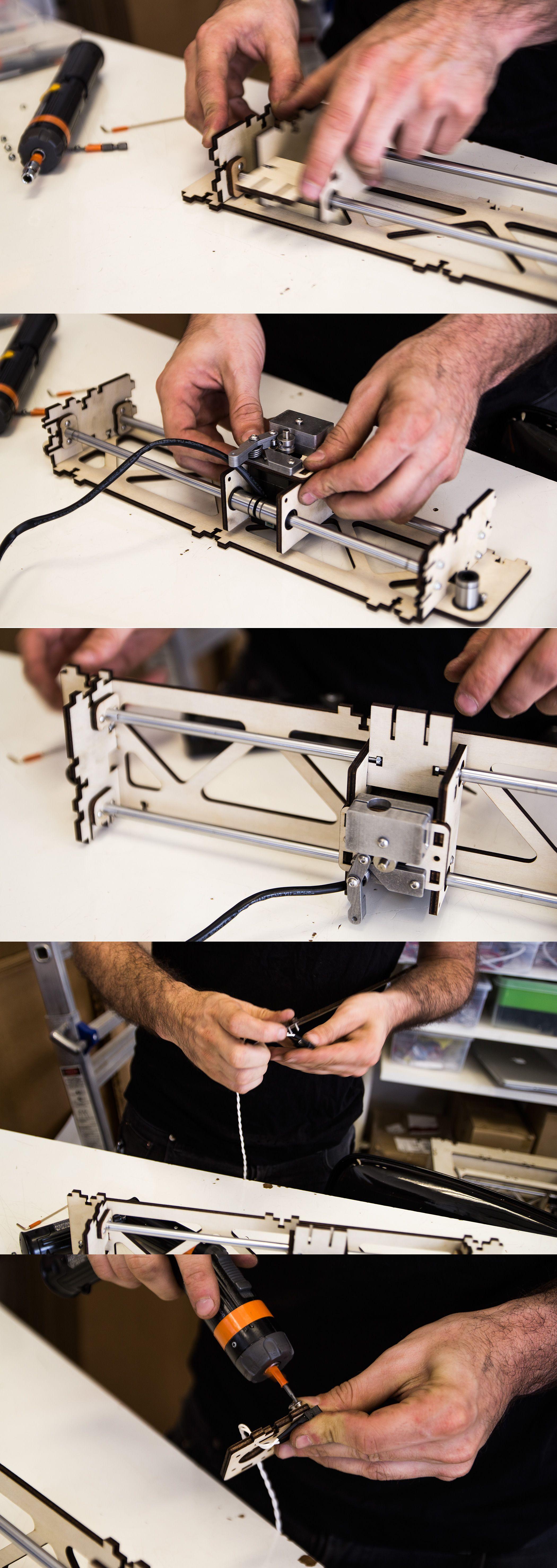 Hos Type A Machines blir skriverne presist montert for hånd.Foto: Varg Aamo, Hardware.no