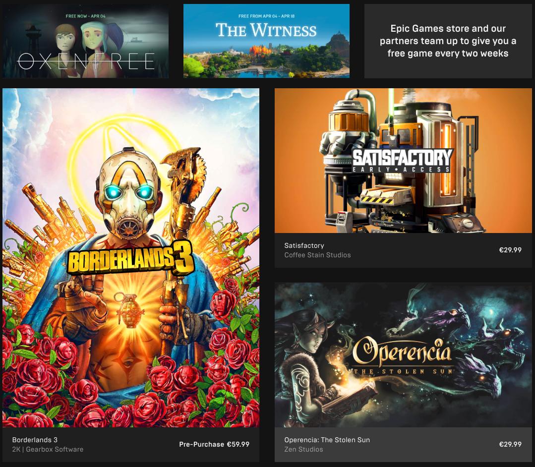 Epic Games Store frister med et nytt gratis spill annenhver uke for å tiltrekke brukere.