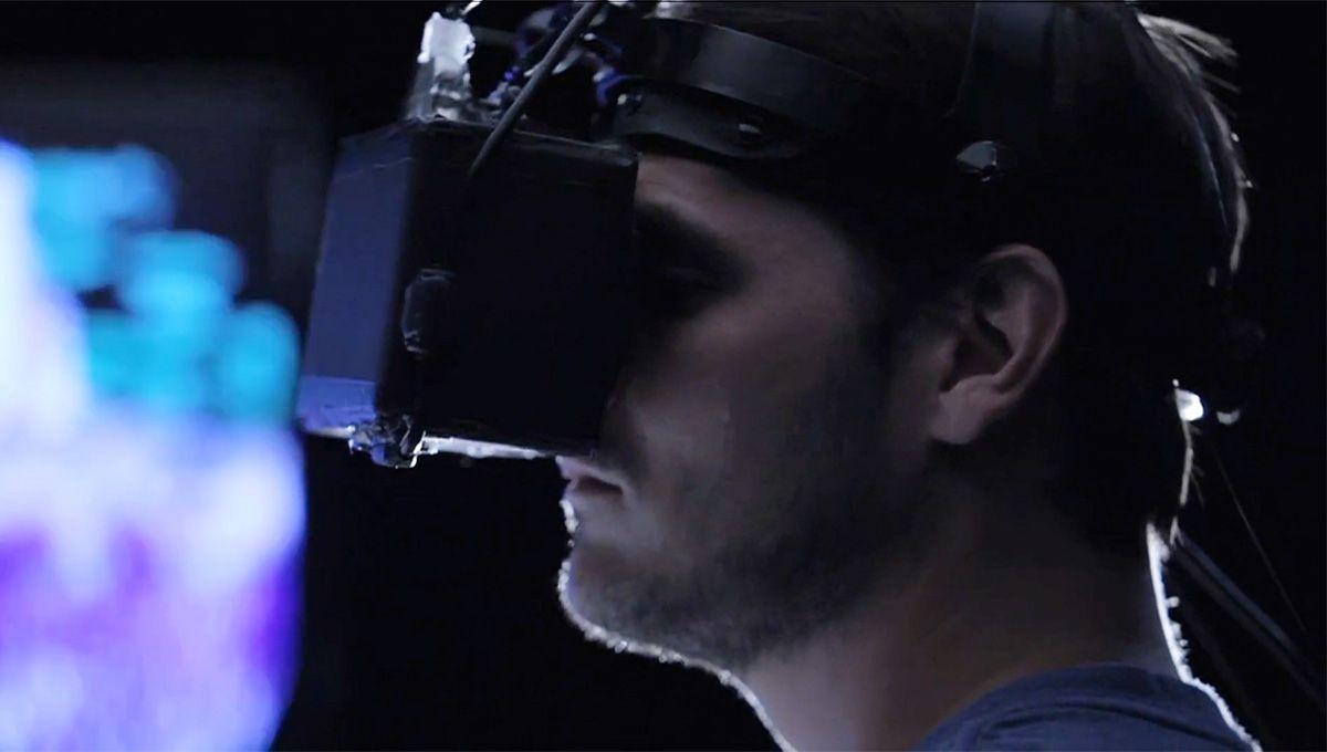 Utviklermodellen endte ikke med å se slik ut, og godt er egentlig det.Foto: Oculus VR
