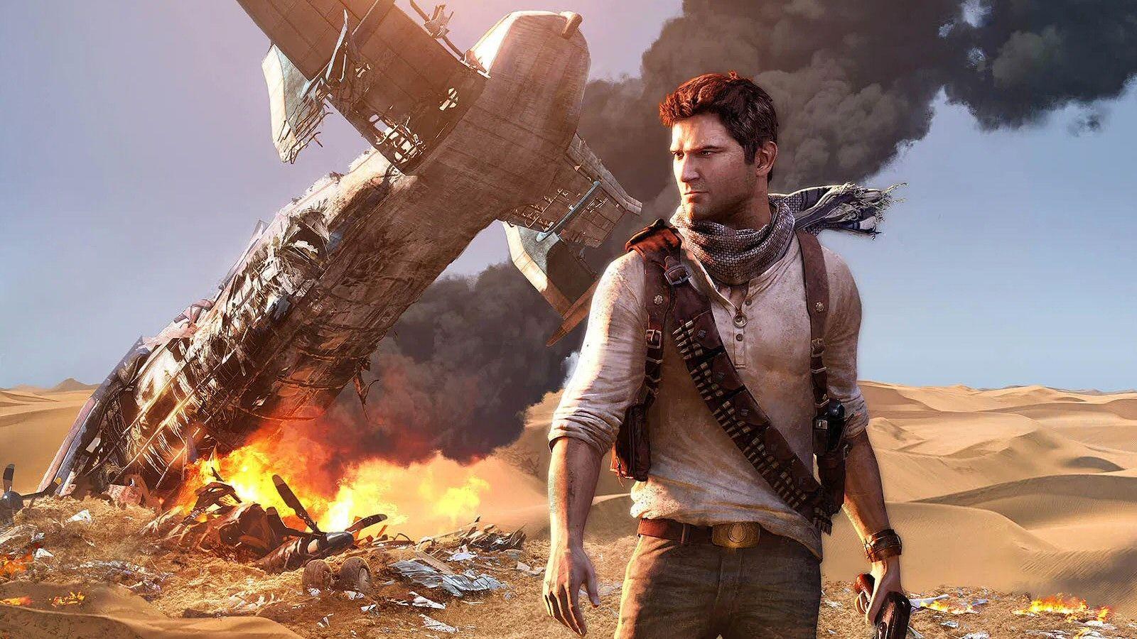 Skattejegeren Nathan Drake er hovedpersonen i spillserien Uncharted.