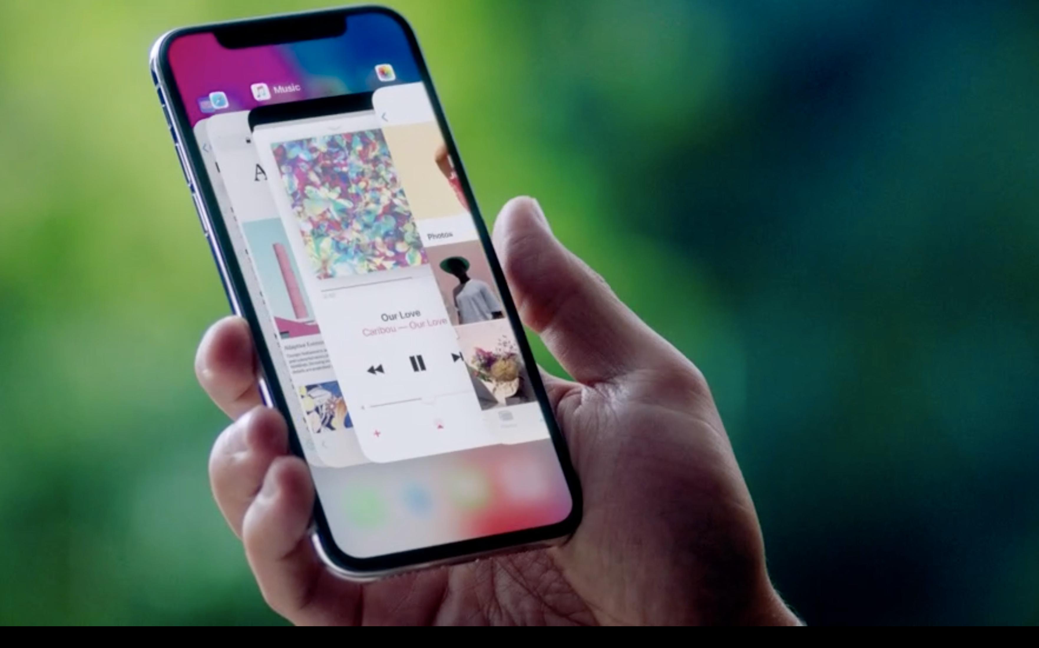 iPhone X er foreløpig den eneste Apple-telefonen med Face ID.