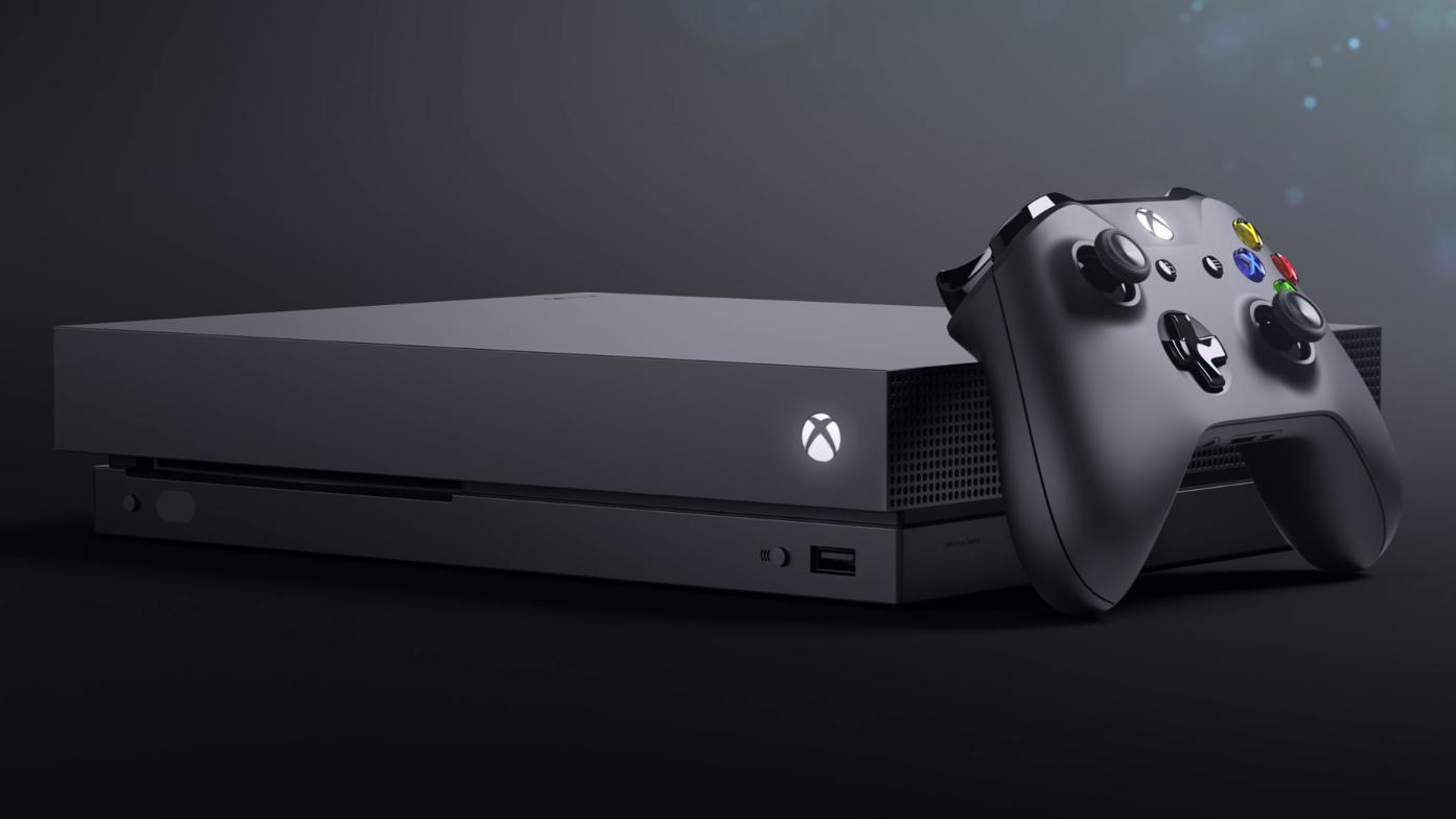 Dette er Xbox One X