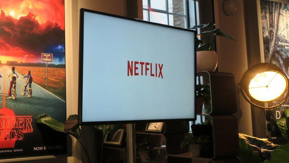 Vi vil ha stadig større skjermer, og ser mye på Netflix.