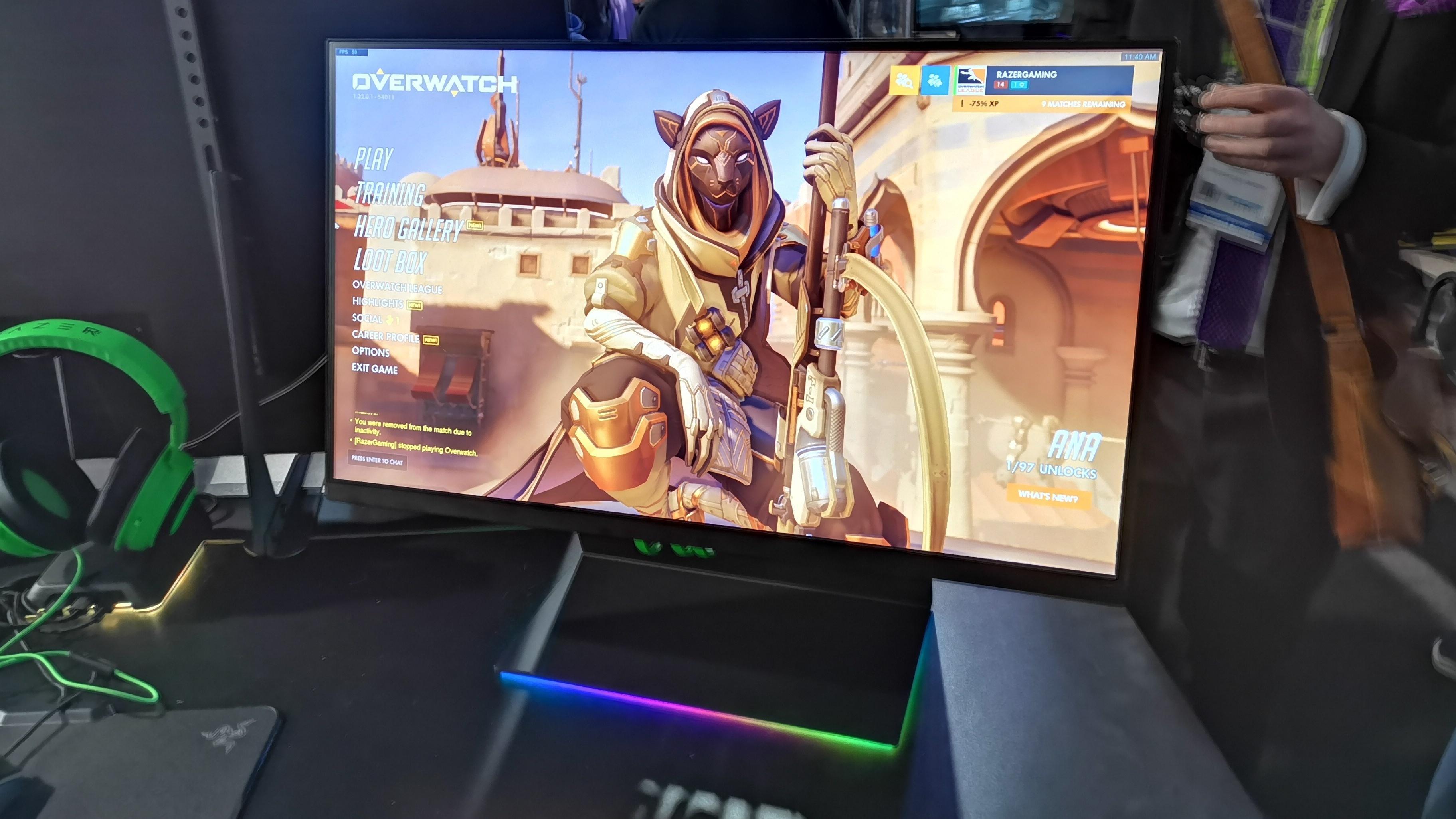 Razer Raptor er selskapets første spillskjerm, men de klarer likevel å skille seg ut
