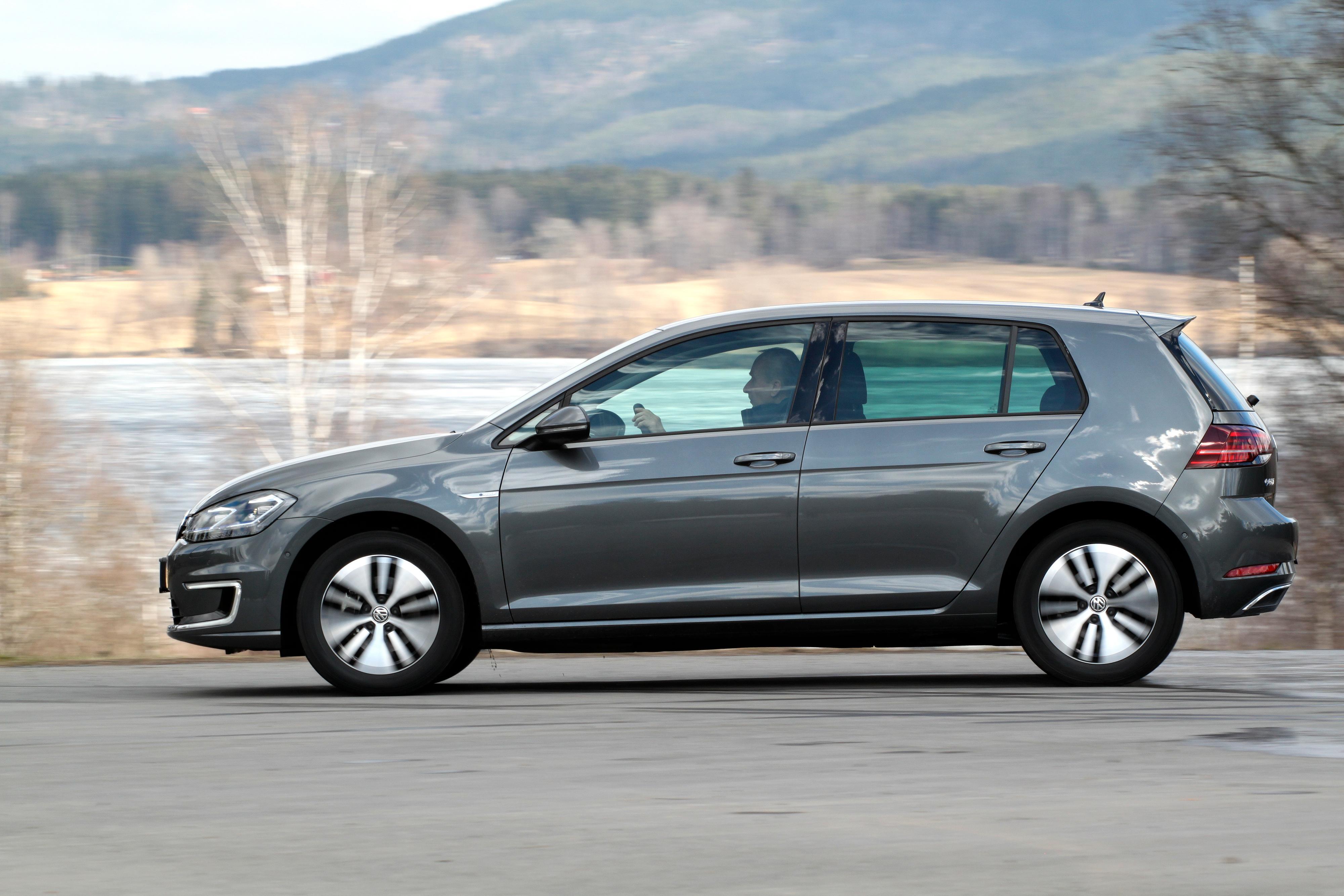 Mest solgt i august: Volkswagen e-Golf.