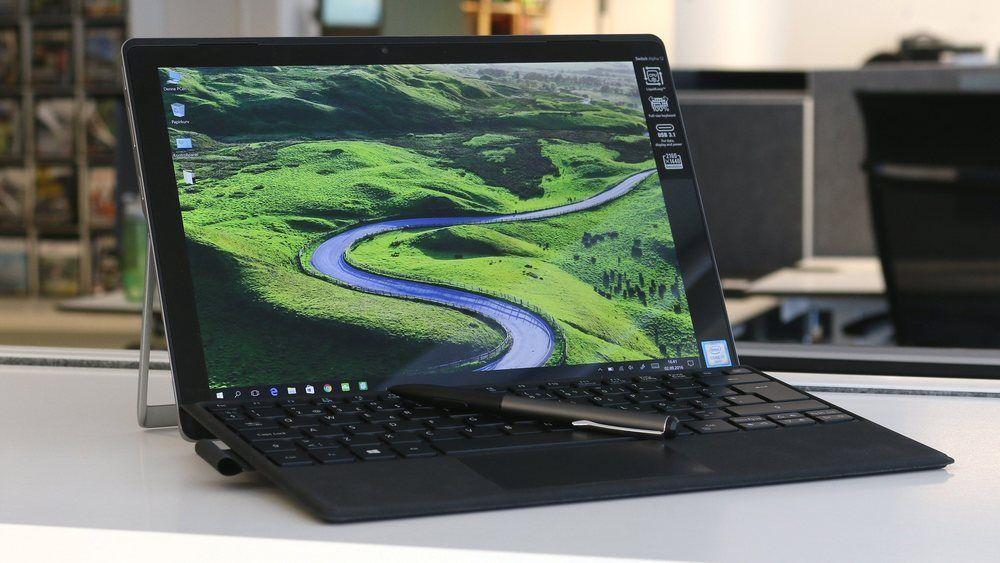 Denne kan du vinne! Tastaturet følger med, mens du nok må bla opp noen lapper selv for pennen.