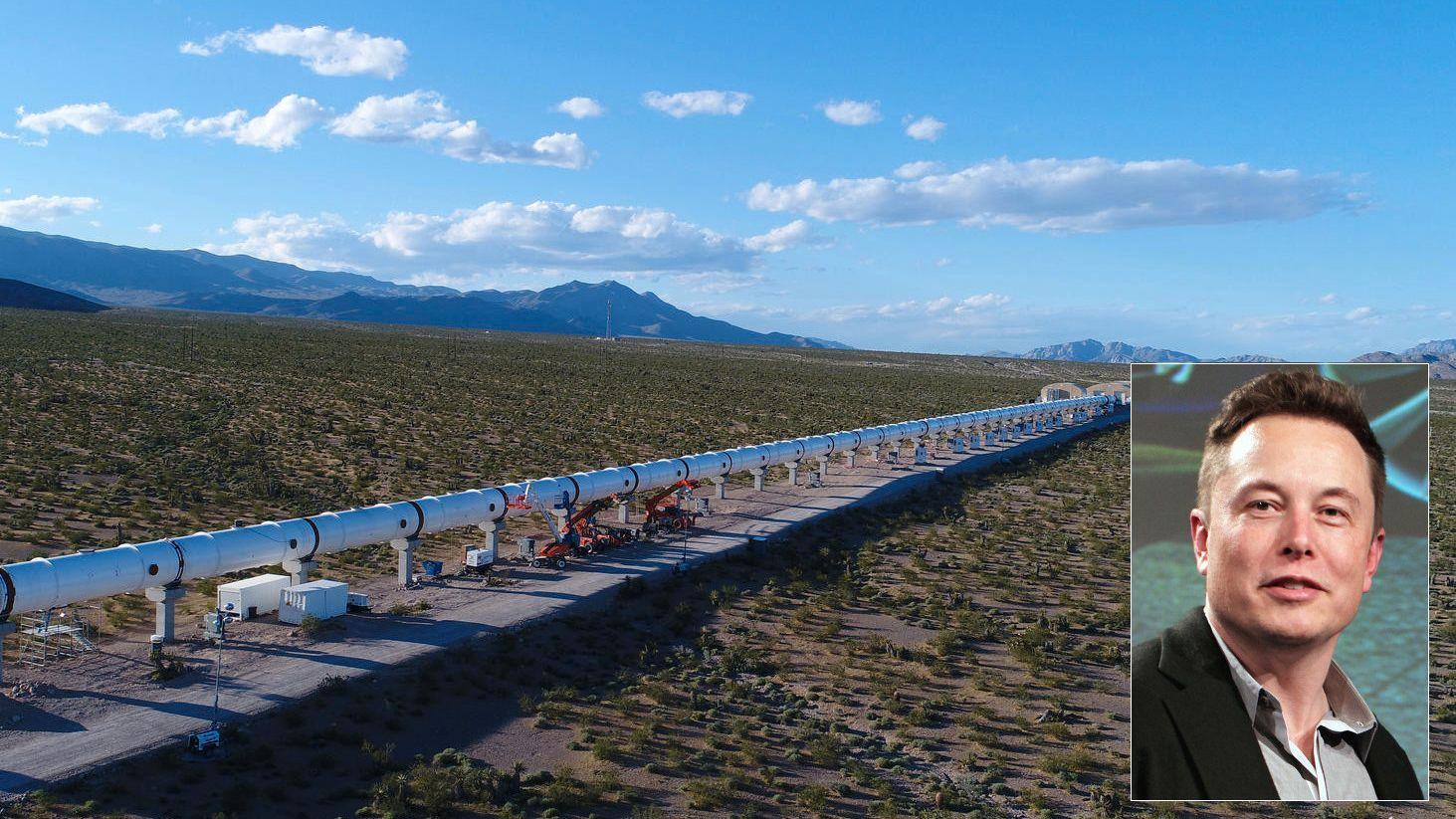 Elon Musk: – Har fått godkjent planer om å bygge Hyperloop-bane