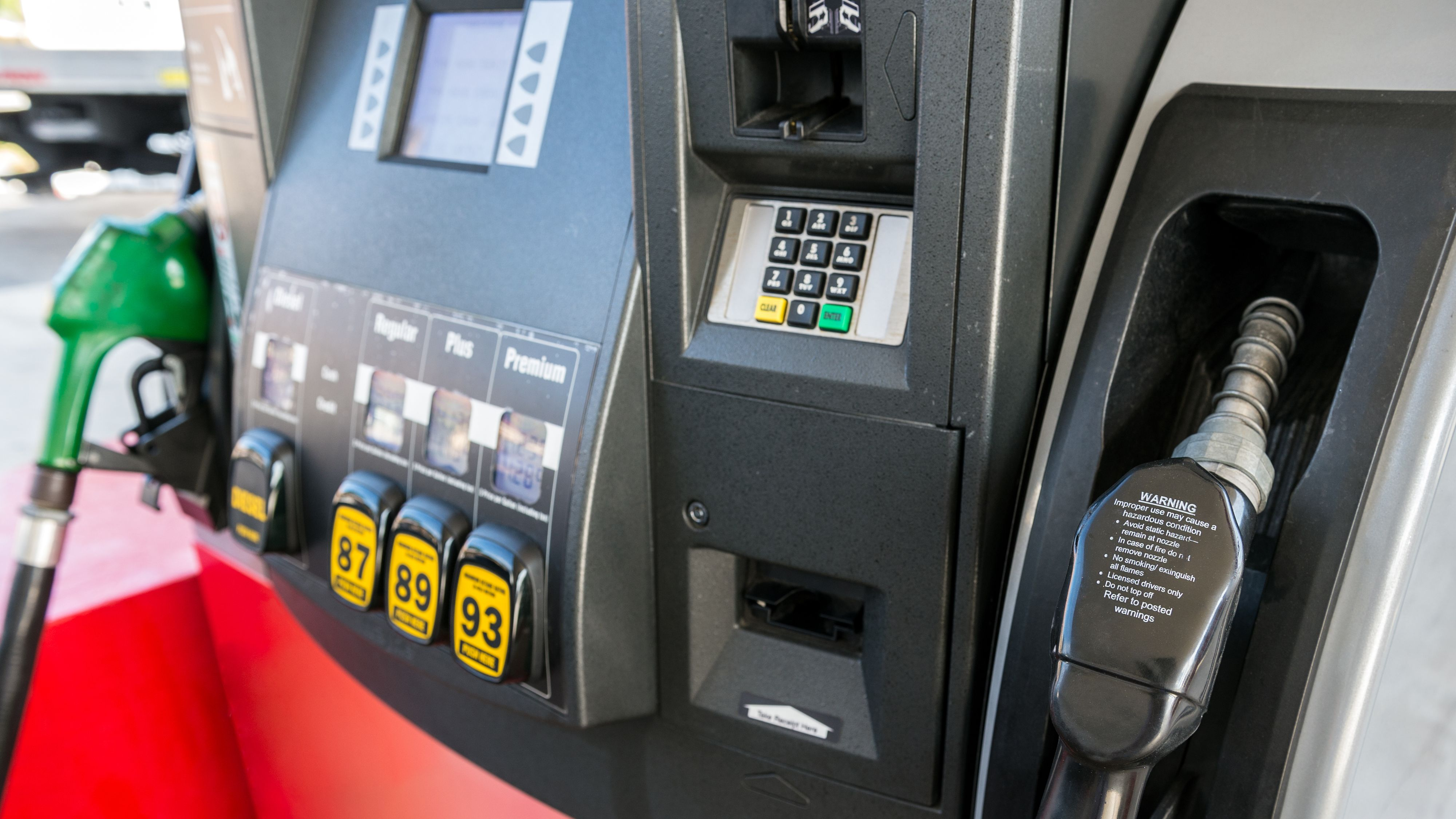 Anonymous hacket bensinpumpe